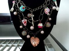 Pastry Chef Baker Cupcake Charm Necklace