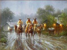 Gary Lynn Roberts Soaked - Southwest Gallery: Not Just Southwest Art.
