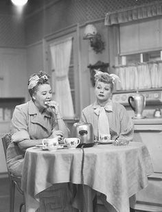 I Love Lucy Redecorating | Vivian Vance & Lucille Ball ~ I Love Lucy