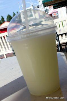 Snack Series: Frozen Lemonade Slush   the disney food blog