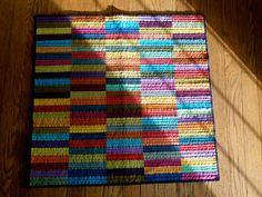 true blue quilts: Re-quilted rectangles