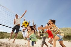 For more fun and excitement at your beach party, consider adding a few games to play. Party games make it easy to involve everyone in the fun and can appeal . Volleyball Drills, Coaching Volleyball, Beach Volleyball, South Beach, Fitness En Plein Air, Beach Party Games, Self Esteem Activities, Physical Activities, Outdoor Training