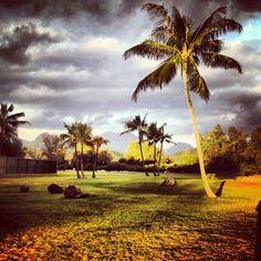 Bellows Beach, Hawaii.