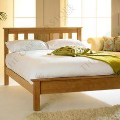 Cavendish Solid Oak Bed Frame 5ft - King Size | The Oak Bed Store