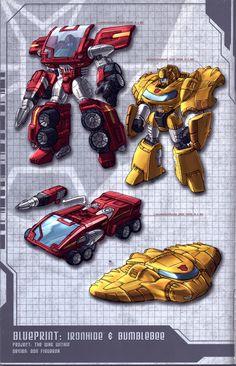 War Within Ironhide n Bee by dcjosh.deviantart.com on @deviantART
