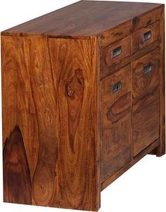 Home affaire Sideboard »Mahesh« aus massivem Sheeshamholz