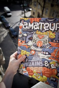 Amateur Magazine #10 - DXTR Edition on www.urbanartcore.eu