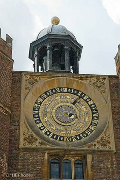 HENRY VIII's ASTRONOMICAL CLOCK - A HISTORICAL FACT THAT IT WAS MADE FOR HIM. c. 1540 - SURREY, ENGLAND