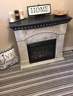 Chalk painted big lots yes big lots electric fireplace pinteres 16649484101547420743203426258718526990462194ng 455600 faux fireplaceelectric fireplacesbasement ideasfurniture makeoverdiy solutioingenieria Image collections