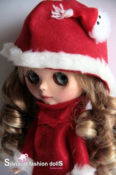 Silviacat - Christmas coat for Blythe