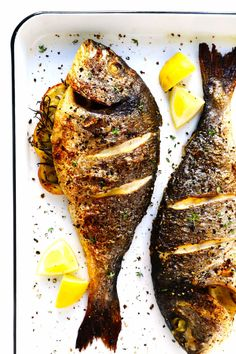 Fish Dishes, Seafood Dishes, Seafood Recipes, Cooking Recipes, Healthy Recipes, Cooking Fish, Fish Recipes For Diabetics, Easy Recipes, Grilled Fish Recipes