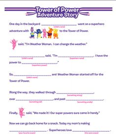 Eureka! What a fun activity for kids to create their own superhero adventure with the Backyardigans! #Madlibs #Backyardigans