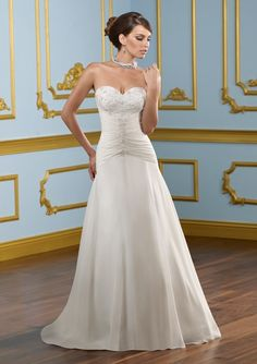 Mori Lee Bridal Gown Style - 4910
