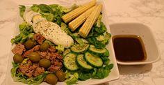 Salata nicoise | Salata cu ton - Adygio Kitchen Nicoise, Asparagus, Salad Recipes, Vegetables, Kitchen, Food, Studs, Cooking, Kitchens
