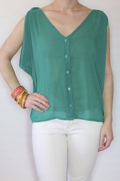 want to pair this with bright blue jeans and gold sandals! only $32