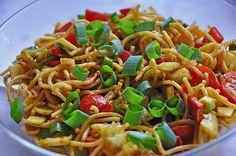 Spaghetti-Curry-Salat, ein gutes Rezept mit Bild aus der Kategorie Party. 264 Bewertungen: Ø 4,4. Tags: Gemüse, Party, Reis- oder Nudelsalat, Salat, Vegetarisch