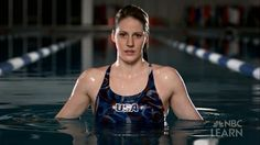 U.S. Olympic swimmer Missy Franklin was born in Pasedena, Calif. The rising star will swim in seven events in London.