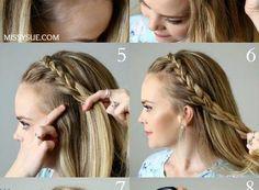 Lace Headband Braid Separate Hair