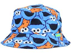 Cookie Monster Sublilmated Bucket Hat