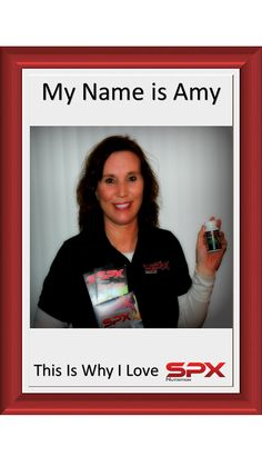 Here is why Amy Wilson Loves SPX Nutrition and why she stands by our products!