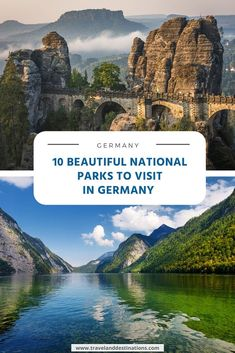 Discover some of the most beautiful and impressive national parks to visit in Germany. Offering stunning landscapes, amazing trails and plenty of exciting wildlife.     #germany #nationalpark #europe #travelanddestinations #travelideas #inspiration #travel #explore #beautifuldestinations #travelinspiration #vacation #holiday #traveltheworld #bucketlists #wanderlust Visit Germany, Germany Europe, Germany Travel, Amazing Destinations, Travel Destinations, Group Travel, Travel News, Ultimate Travel, Vacation Trips