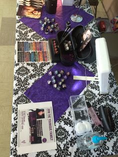 My  furture Younique vendor table!  Younique by The Younique Corner https://www.youniqueproducts.com/Thecorner
