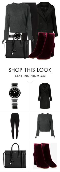 """Untitled #5221"" by beatrizvilar on Polyvore featuring Neil Barrett, Yves Saint Laurent and Gianvito Rossi"