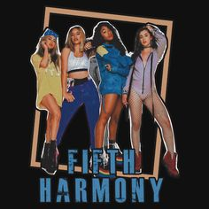 FIFTH HARMONY VINTAGE. This artwork available on unisex t-shirt, iphone & samsung case, sticker, mug, and 20 other products.  Get yours now harmonizers!.