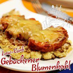 Low-Carb Gebackener Blumenkohl mit Hähnchenbrust und Bacon in 10 Sekunden