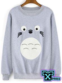 Sudadera Moda Totoro Estudios Ghibli Para Caballero y Dama Ropa Bonita 5e866048404