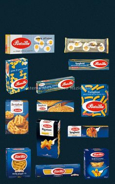 storia del Packaging Barilla dal 1950 al 2000