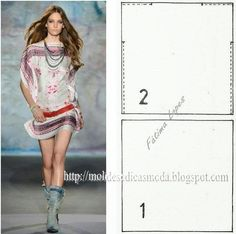 Good site with a lot of patterns, has English translation. ROBE SCARF - Molds for Measure Fashion