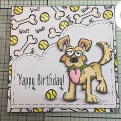 Tim Holtz Crazy Dogs Stamps