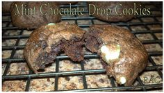 Mint Chocolate Drop Cookies