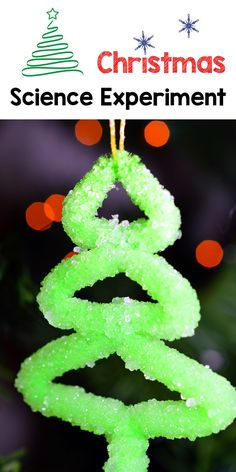 It's that time of the year! Want to create some homemade crystal ornaments with the kids? Here is an easy Christmas ornament craft + science experiment. Preschool Christmas, Christmas Crafts For Kids, Christmas Activities, Holiday Crafts, Christmas Math, Holiday Ideas, Easy Christmas Ornaments, Simple Christmas, Winter Christmas