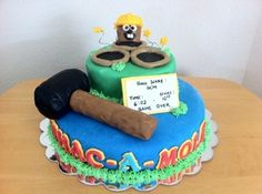 Mole Day 2011 - Whac-a-Mole By daniebark on CakeCentral.com