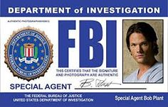 Image result for fbi id card