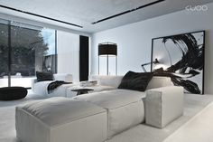 recessed lights for ceiling | PRIVATE HOUSE by Katarzyna Kuo Stolarska, via Behance
