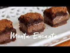 Bolo Mágico de Chocolate, se dividi em 3 camadas com 3 texturas diferentes: o topo um bolo esponja, o centro cremoso como um pudim e a base mais sólida.