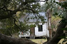 Magnolia Plantation. Slave Cabin Restoration. Rock Creek Craftsmen. Charleston, SC