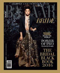 Priyanka Chopra Makes for a Bold and Sexy Bride on Harper's Bazaar Bride Cover!   PINKVILLA