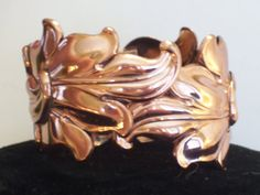 Rare Vintage RENOIR Copper MADEIRA Huge Leaf by TheCopperCat, $99.00
