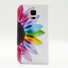 magic spider®sunflower PU nahka lompakko täynnä kotelo kansi näytön suojus Samsung Galaxy S5 – EUR € 8.99
