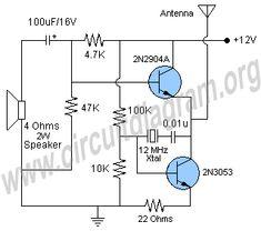 Very simple FM Radio Receiver Circuit