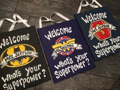 Superhero Teacher door sign - Super Hero Door Sign - I Teach what's your superpower by MelanieLupien on Etsy https://www.etsy.com/listing/169800477/superhero-teacher-door-sign-super-hero