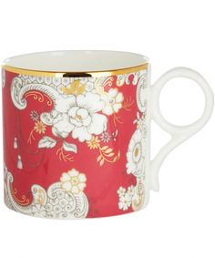 Pink Rococo Archive Collection Mug, Wedgwood. Shop more from the Wedgwood collection at Liberty.co.uk