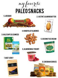 Paleo snacks, gluten-free, dairy-free, soy-free, non-GMO, sugar-free