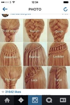 I do love a plait! Just wish I could do them on myself!