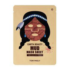 Tonymoly-Earth Beauty Mud Mask Sheet
