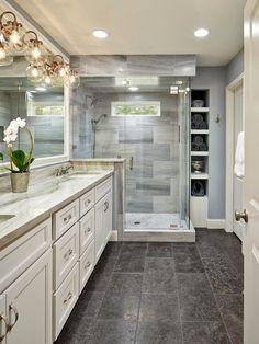 33+ Surprising Modern Master Bathroom Decor Ideas #bathroom #bathroomdecor #bathroomdecorideas